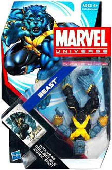 Marvel Universe Series 18 Beast Action Figure #10 [Upside Down]