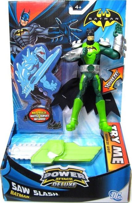 Power Attack Deluxe Batman Action Figure [Saw Slash]