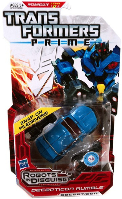 Transformers Prime Robots in Disguise Decepticon Rumble Deluxe Action Figure