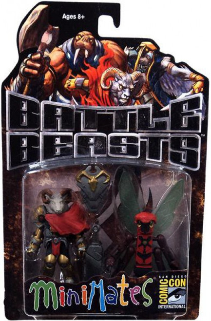 Battle Beasts MiniMates Vorin & Zik Exclusive Minifigure 2-Pack