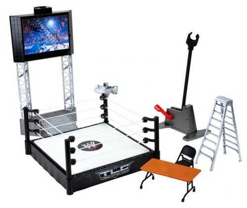 WWE Wrestling Flex'ems Series 2 High Flyin' Fury Ring Action Figure Playset