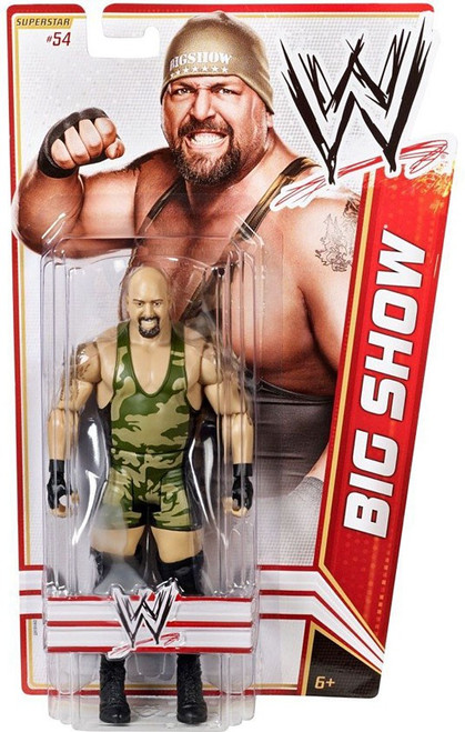 WWE Wrestling Series 21 Big Show Action Figure #54