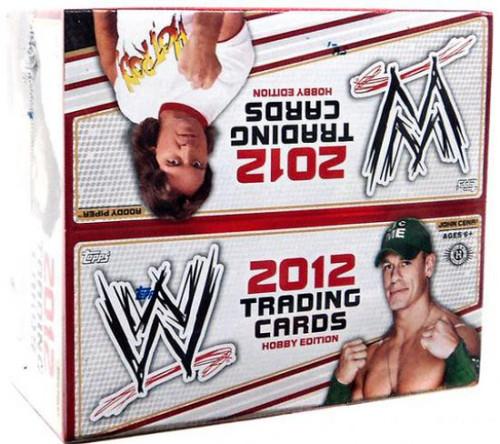 WWE Wrestling Topps 2012 Trading Card HOBBY Box [24 Packs]