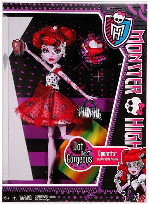 Monster High Dot Dead Gorgeous Operetta 10.5-Inch Doll