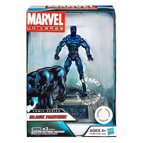 Marvel Avengers Comic Series Black Panther Exclusive Action Figure