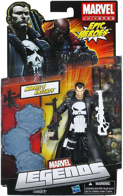 Marvel Legends 2012 Series 3 Epic Heroes Punisher Action Figure [Marvel Knights]