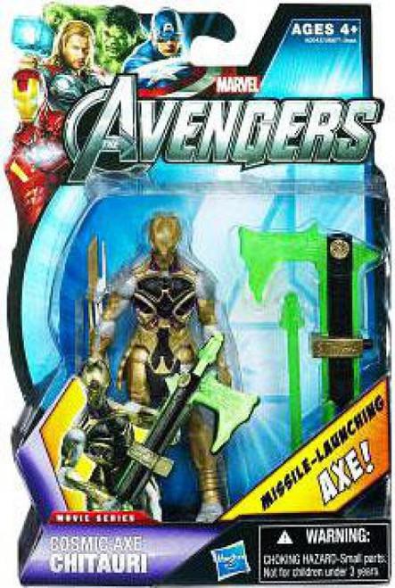 Marvel Avengers Movie Series Cosmic Axe Chitauri Action Figure