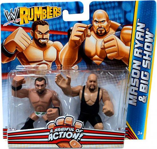 WWE Wrestling Rumblers Series 2 Mason Ryan & Big Show Mini Figure 2-Pack