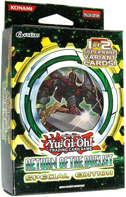 YuGiOh Trading Card Game Return of the Duelist Special Edition [3 Booster Packs & Promo Card]