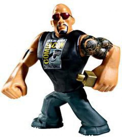 WWE Wrestling Rumblers Series 2 The Rock Exclusive Mini Figure [Exclusive]