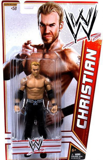 WWE Wrestling Series 22 Christian Action Figure #58