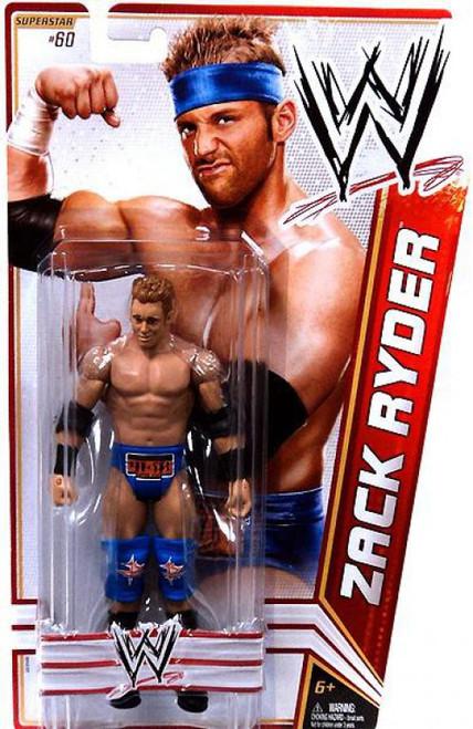 WWE Wrestling Series 22 Zack Ryder Action Figure #60