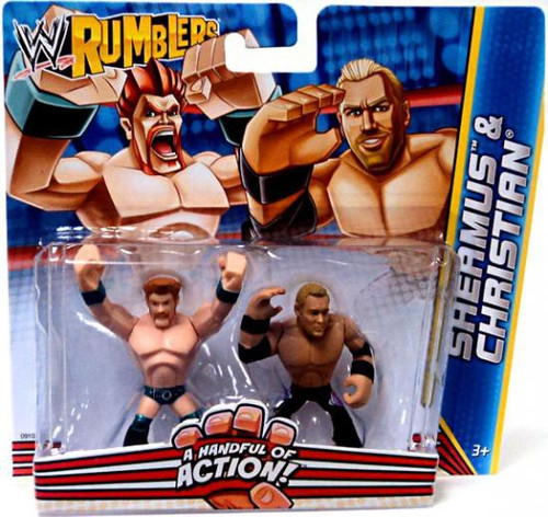WWE Wrestling Rumblers Series 2 Sheamus & Christian Mini Figure 2-Pack