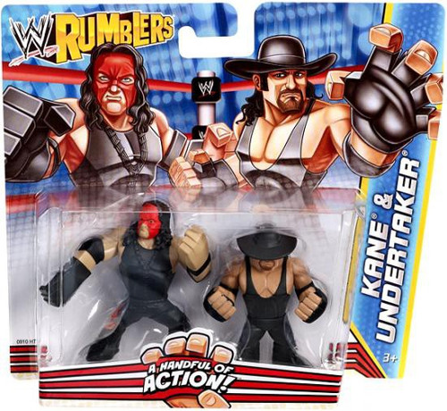 WWE Wrestling Rumblers Series 2 Kane & Undertaker Mini Figure 2-Pack