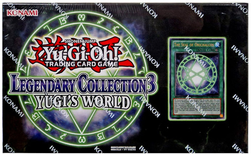 YuGiOh Trading Card Game Legendary Collection 3 Yugi's World Special Edition Set