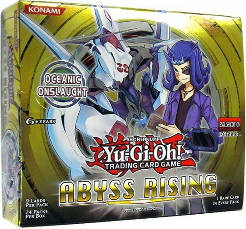 YuGiOh Trading Card Game Abyss Rising Booster Box [24 Packs]