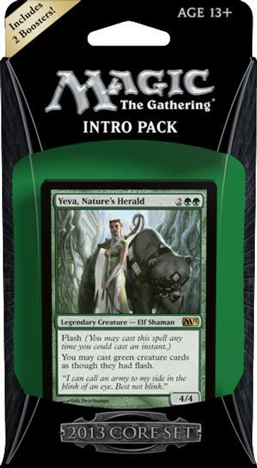 MtG Trading Card Game 2013 Core Set Wild Rush Intro Pack