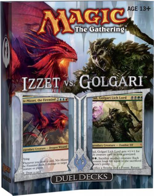 MtG Trading Card Game Izzet vs. Golgari Duel Decks