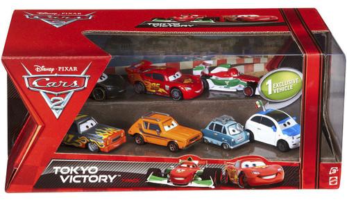 Disney / Pixar Cars Cars 2 Multi-Packs Radiator Springs Race 7-Pack Exclusive Diecast Car Set
