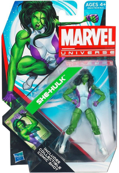 Marvel Universe Series 19 She-Hulk Action Figure #12