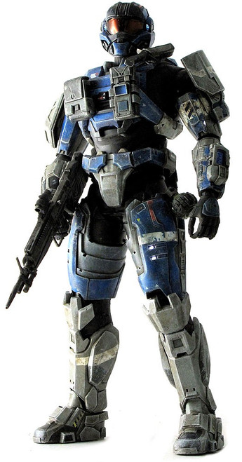 Halo Reach Deluxe Articulated Showcase Commander Carter Collectible Figure