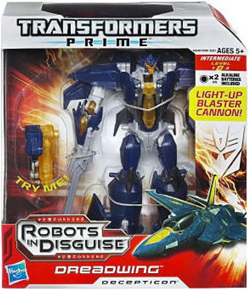 Transformers Prime Robots in Disguise Dreadwing Voyager Action Figure