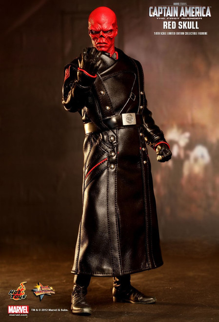 The First Avenger Captain America Movie Red Skull Collectible Figure