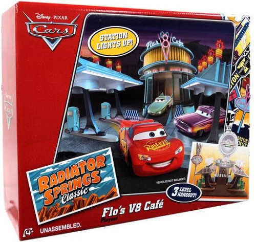 Disney / Pixar Cars Radiator Springs Classic Flo's V8 Cafe Exclusive Playset