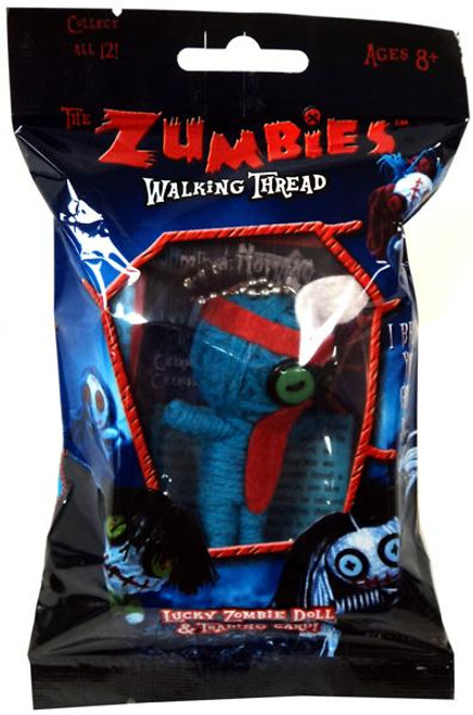 The Zumbies Walking Thread Lucky Zombie Doll Norman Keychain