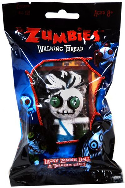The Zumbies Walking Thread Lucky Zombie Doll Fred Keychain