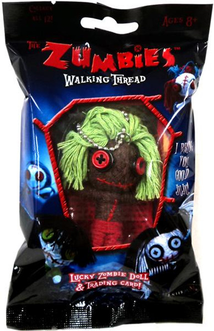 The Zumbies Walking Thread Lucky Zombie Doll Smitty Keychain