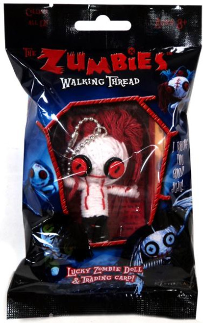 The Zumbies Walking Thread Lucky Zombie Doll Spencer Keychain