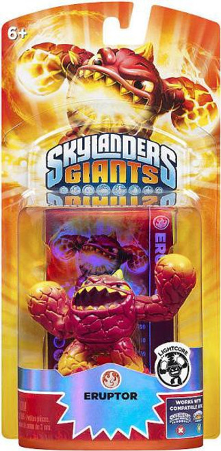 Skylanders Giants Lightcore Eruptor Figure Pack