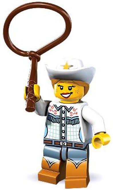 LEGO Minifigures Series 8 Cowgirl Minifigure [Loose]