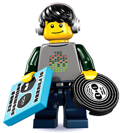 LEGO Minifigures Series 8 DJ Minifigure [Loose]
