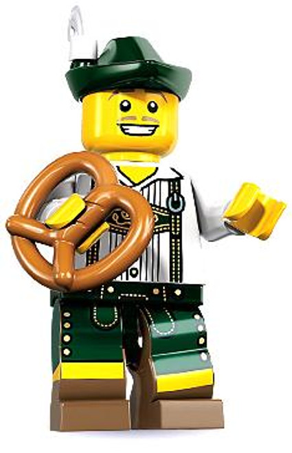LEGO Minifigures Series 8 Lederhosen Guy Minifigure [Loose]