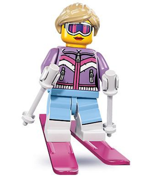 LEGO Minifigures Series 8 Downhill Skier Minifigure [Loose]