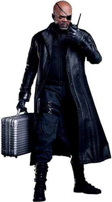 Marvel Avengers Movie Masterpiece Nick Fury Collectible Figure