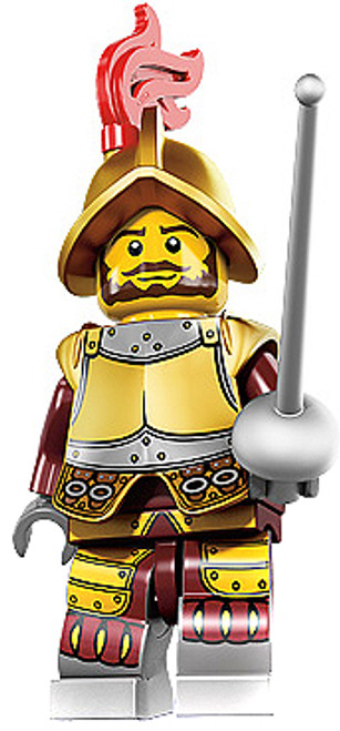 LEGO Minifigures Series 8 Conquistador Minifigure [Loose]