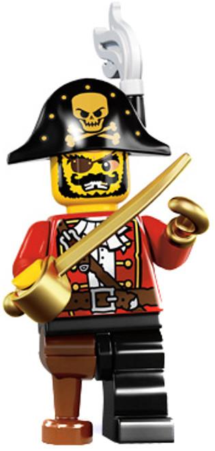 LEGO Minifigures Series 8 Pirate Captain Minifigure [Loose]