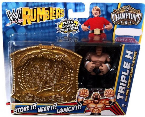 WWE Wrestling Rumblers Champions Triple H Exclusive Mini Figure