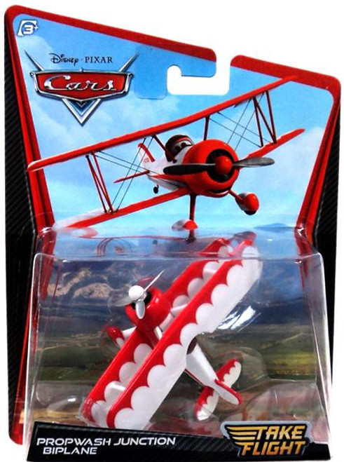 Disney / Pixar Cars Take Flight Propwash Junction Biplane Diecast Car
