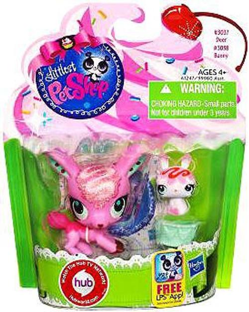 Littlest Pet Shop Deer & Bunny Friend Figure 2-Pack