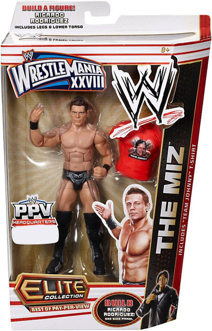 WWE Wrestling Elite Collection WrestleMania 28 The Miz Exclusive Action Figure [Team Johnny T-Shirt]