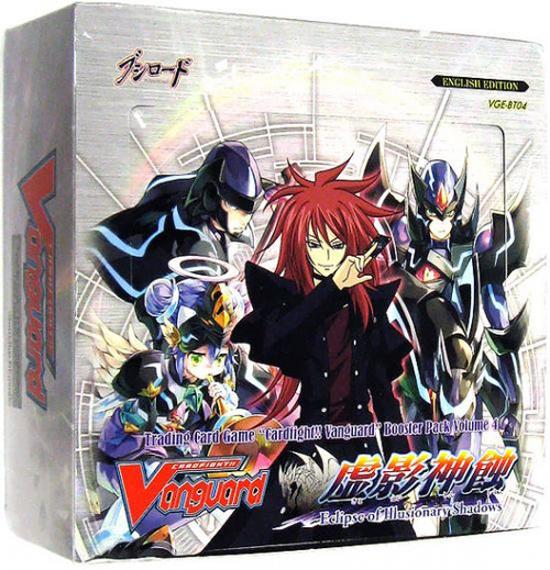 Cardfight Vanguard Trading Card Game Eclipse of Illusionary Shadows Booster Box [30 Packs]