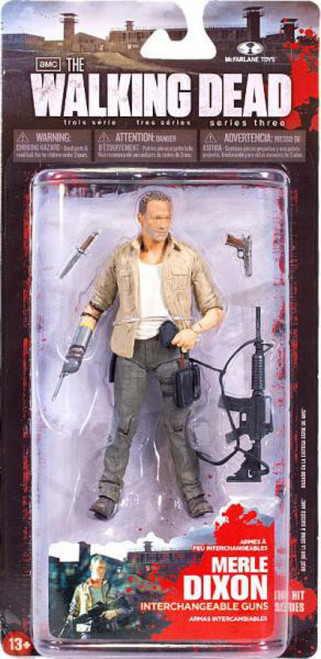 McFarlane Toys The Walking Dead AMC TV Series 3 Merle Dixon Action Figure