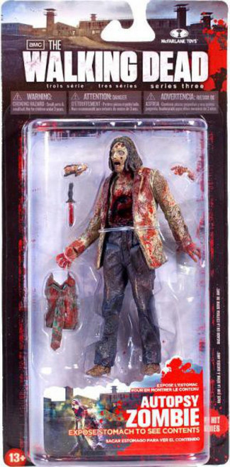 McFarlane Toys The Walking Dead AMC TV Series 3 Autopsy Zombie Action Figure
