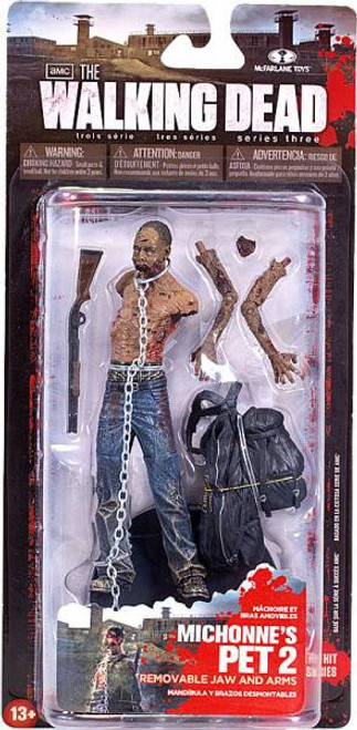 McFarlane Toys The Walking Dead AMC TV Series 3 Michonne's Pet Zombie 2 Action Figure