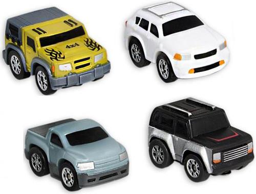 Nano Speed Nano Off-Road Micro Car 4-Pack [RANDOM Cars]