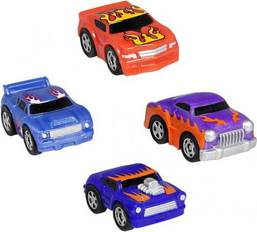 Nano Speed Nano Rods Micro Car 4-Pack [RANDOM Cars]